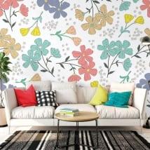 Muro fiori da decorare