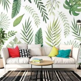 Murales fiori per decorare pareti e oggetti