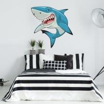 Adesivi e vinili decorativi squalo