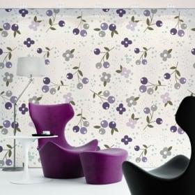 Murales di vinile con i fiori