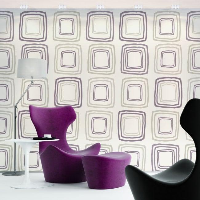 Murali di vinile adesivo stile retrò