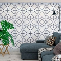 Murali di vinile adesivo con cerchi