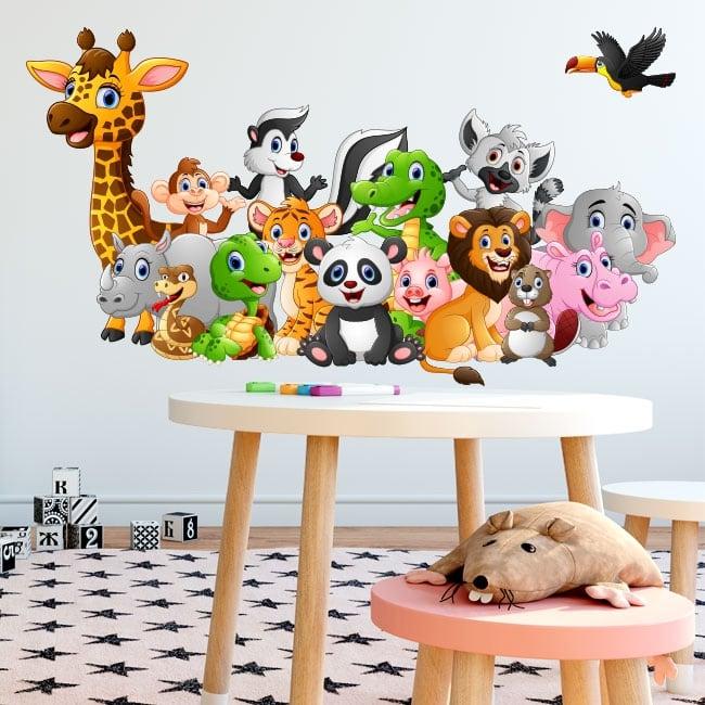 Vinile e adesivi animali da bambini