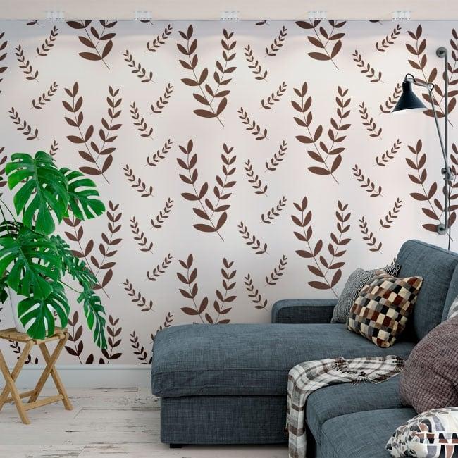 Murales di vinile decorativo lascia la natura