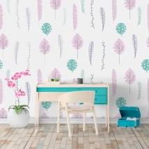 Murales in vinile colori della natura