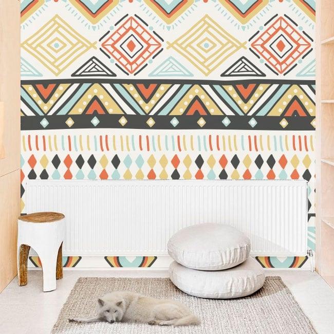 Murales in vinile stile hippy