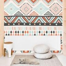 Murales di vinile decorativo con stile hippy