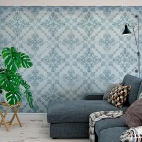 Gigantografie vinili muri stile vintage