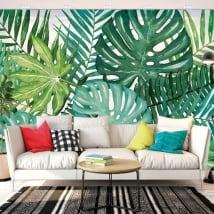 Gigantografie vinili muri natura tropicale
