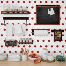 Gigantografie vinili muri ciliegie cucine