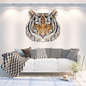 Vinili muri tigre tribale