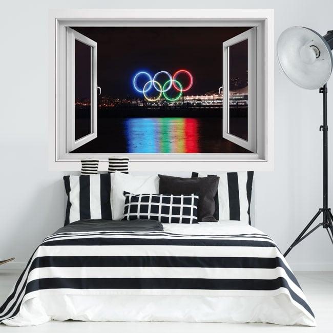 Vinile 3d città canada vancouver giochi olimpici