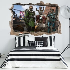 Vinili e adesivi apex legends 3d