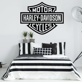 Vinili e adesivi logo moto harley davidson