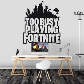 Vinile decorativo e adesivi di fortnite