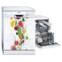 Adesivi lavastoviglie a frutta