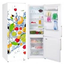 Vinili frigoriferi esplosione di frutti