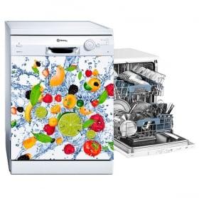 Vinili lavastoviglie esplosione di frutti