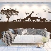 Sticker murale africa