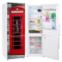 Vinili frigoriferi inghilterra cabina telefonica londra