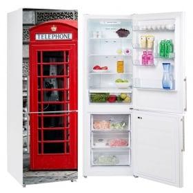 Vinili frigoriferi tratti colorati