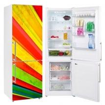 Vinili frigoriferi fan dei colori