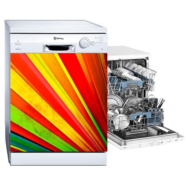 Vinili lavastoviglie fan dei colori