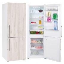 Vinili e adesivi frigoriferi finitura in legno