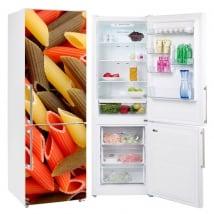 Vinile e adesivi frigoriferi maccheroni