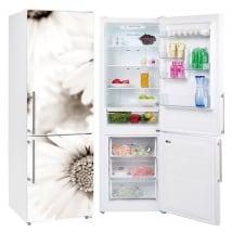 Vinile e adesivi frigoriferi fiori margherite