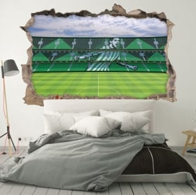 Vinili muri 3d stadio di mestalla valencia club di calcio