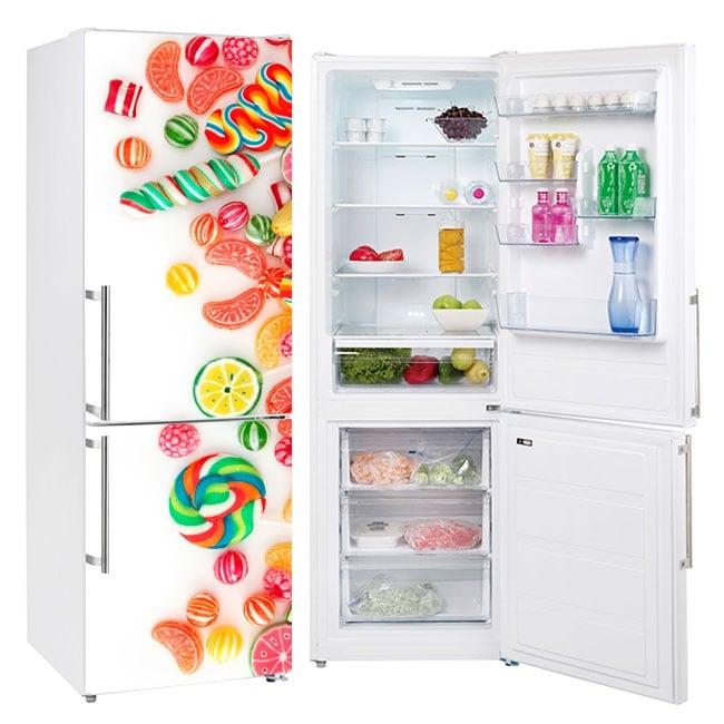Vinile decorativo frigoriferi dolci e caramelle