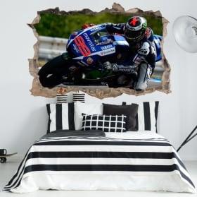Adesivi 3d motogp marc márquez honda