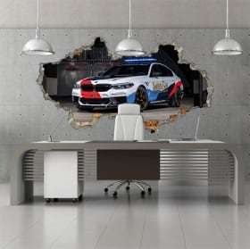 Vinile 3d motogp bmw m5 safety car