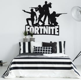 Sticker murale fortnite