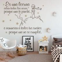 Vinile decorativo e adesivi frasi il piccolo principe