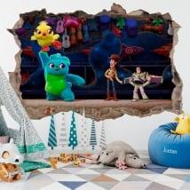 Vinile per bambini 3d storia del giocattolo 4