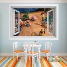 Vinile per bambini finestra 3d storia del giocattolo 4