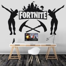 Vinile decorativo videogioco fortnite