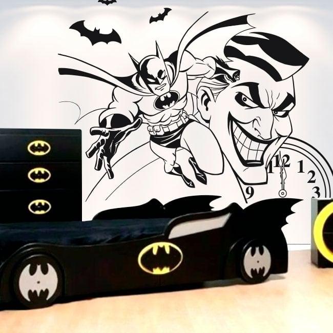 Adesivi di vinile decorativo batman e joker