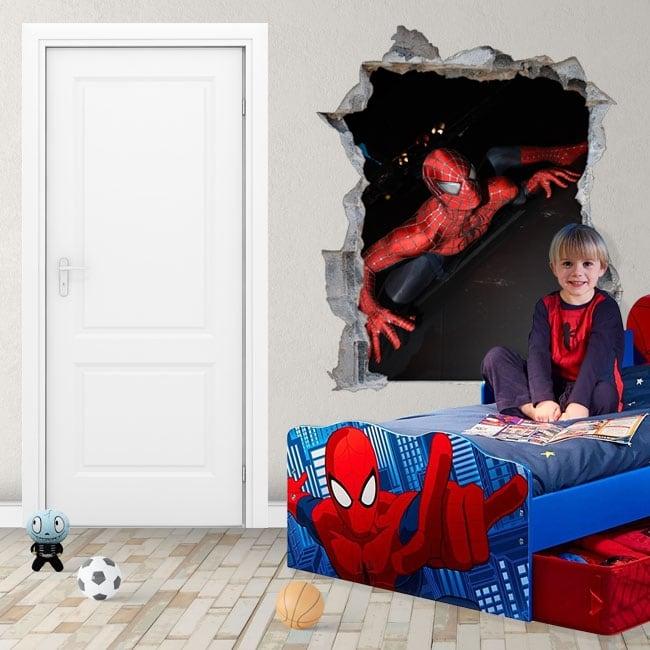 Vinili e adesivi spiderman 3d