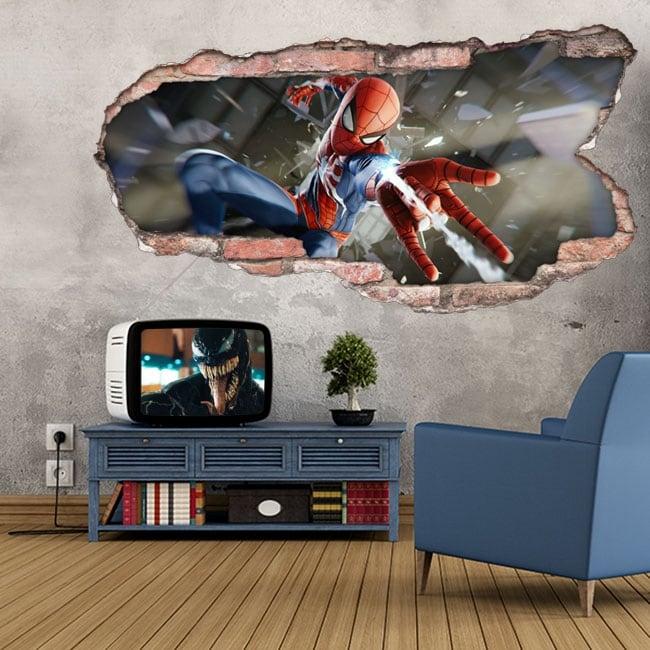 Vinile e adesivi spider-man 3d