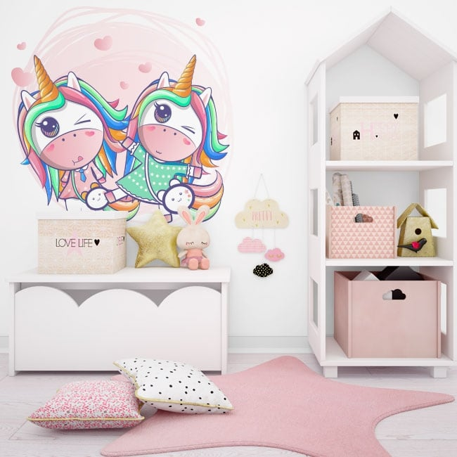 Vinile decorativo e adesivi unicorni