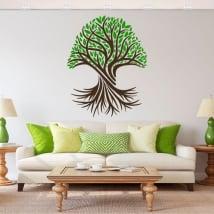 Adesivi in vinile l'albero della vita