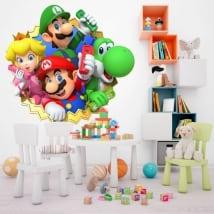 Vinile decorativo bambini o giovani mario party