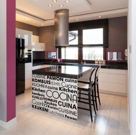 Testi di vinile decorativo godono lingue Italian 924