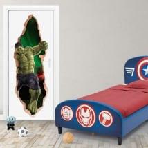 Vinili marvel porte 3d hulk