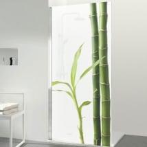 Vinile per schermi stile zen bambù