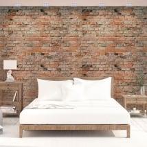 Murales di vinile adesivo con mattoni
