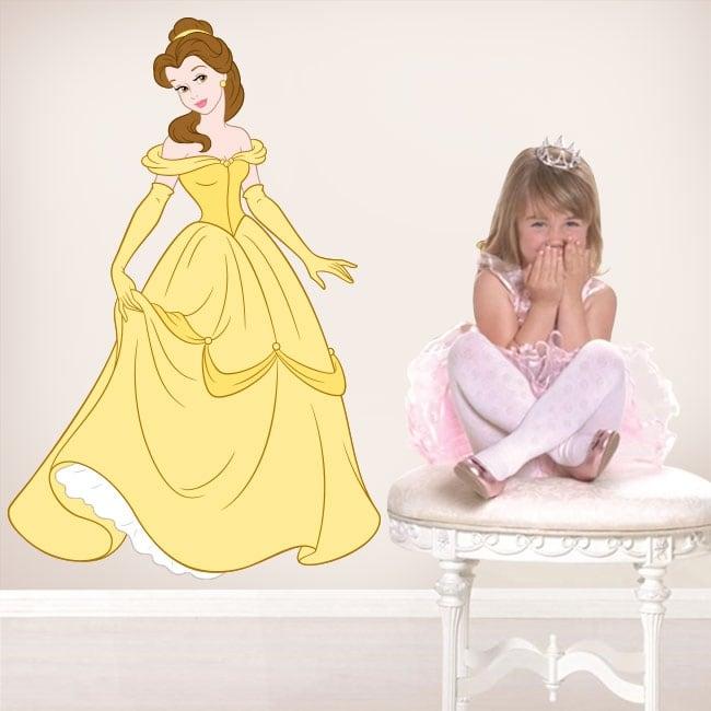 Vinili bambini o giovani principessa disney bellezza
